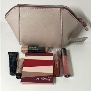 Ulta Beauty Makeup Lot and free cosmetic bag New